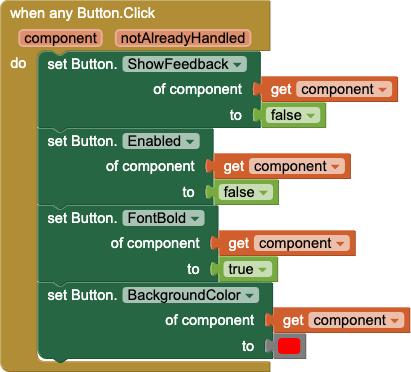 Un gestore di eventi generico per qualsiasi Button.Click che esegue le stesse operazioni di cui sopra, ma per qualsiasi Button non solo per Button1