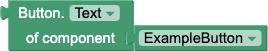 Blocco Getter per ottenere la proprietà Text di un pulsante chiamato ExampleButton